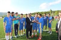 FUTBOL TAKIMI - Pazarlar'da Futbol Turnuvası Sona Erdi
