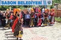 HALK EĞİTİM - Sason'da Halk Eğitim Sergisi Düzenlendi