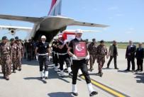MESUT YILMAZ - Şehit Mesut Yılmaz'ın Naaşı Samsun'da