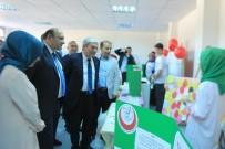 EDIP ÇAKıCı - Şehit Osman Er İmam Hatip Ortaokulu TÜBİTAK Bilim Fuarı Sergisini Açtı