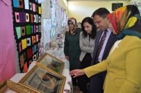 Sincik Halk Eğitim Merkezi Yıl Sonu Sergisi Açtı