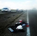 Ticari Araç Şarampole Yuvarlandı Açıklaması 2 Ölü, 1 Yaralı