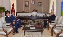 Vali İpek, Bakan Özhaseki İle Yatırımları Görüştü