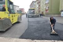 ALİ KORKUT - Yakutiye Belediyesi, Şükrüpaşa'yı Asfaltla Kaplıyor