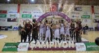 TÜRKİYE KADINLAR BASKETBOL LİGİ - 1450 Sporcu, 59 Şampiyonluk