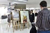 MURAT SALIM TOKAÇ - 17. Şefik Bursalı Resim Yarışması Sergisi Ankara'da Açıldı