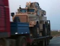 ZIRHLI ARAÇLAR - ABD'den YPG'ye 70 TIR'lık yardım