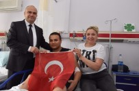 GIDA ZEHİRLENMESİ - AK Parti'li Mersinli Hastanedeki Askerleri Ziyaret Etti