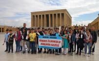 TÜRKIYE BÜYÜK MILLET MECLISI - Akdeniz Belediyesi, Öğrencileri Anıtkabir'e Götürdü