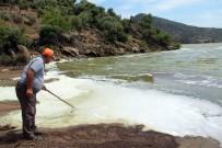 SU ÜRÜNLERİ - Bafa Gölü Köpürdü