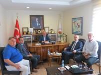 MECLIS BAŞKANı - Balıkesir SGK İl Müdürü Erol'dan ATO'ya Ziyaret