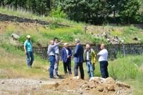 TERMAL TURİZM - Belediye Başkanı Saraoğlu, Gediz Termal Tatil Köyü'ndeki Çalışmaları İnceledi