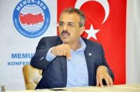İŞ BIRAKMA EYLEMİ - Büro Memur-Sen Genel Başkanı Yanbaz Açıklaması 'Zamlar En Kısa Sürede Yapılmalı, Aksi Takdirde Eylem Yapacağız'