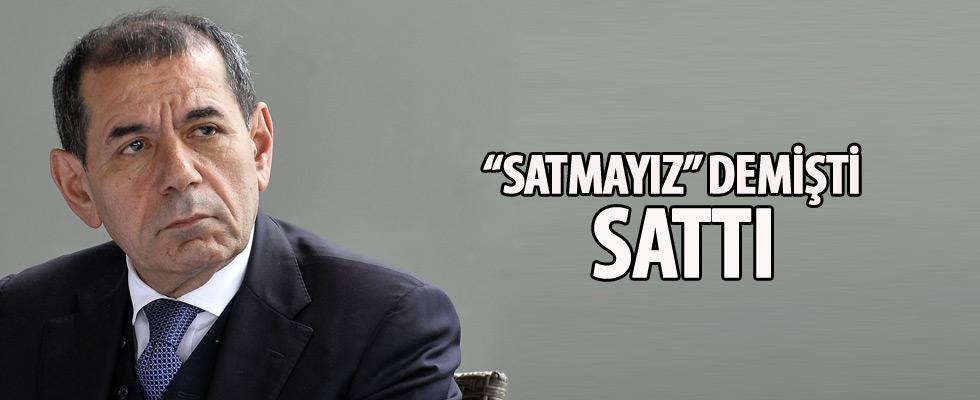 Dursun Özbek 'Galatasaray hisselerini asla satmam' dedi, sattı