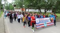 OBEZİTE - Edirne'de Düzenlenen Yürüyüşle Obeziteye Dikkat Çekildi