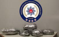 HAPİS CEZASI - Elazığ'da 18 Kilogram Esrar Ele Geçirildi