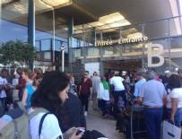 FRANSA - Fransa'da havalimanı boşaltıldı