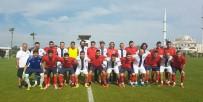 HAZIRLIK MAÇI - İşitme Engelli Futbol Milli Takımı, Olimpiyatlara Manavgat'ta Hazırlanıyor