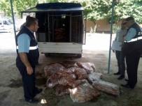 KAÇAK - Kilis'te Piyasaya Kaçak Olarak Sürülmeye Hazırlanan 1 Ton Tavuk Eti Ele Geçirildi