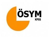 ÖSYM - KPSS alan sınavları için '15 dakika kuralı' hatırlatması