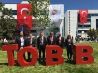 GENÇ GİRİŞİMCİLER - Kuşadası Ticaret Odası Heyeti TOBB'un 73. Genel Kuruluna Katıldı