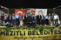 SAIT KARAHALILOĞLU - Mezitli Belediyesi, Örtü Altı Üzüm Festivali Düzenledi