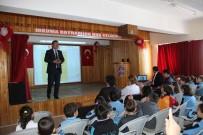 TRAFİK EĞİTİMİ - Öğrencilere Trafik Kuralları Anlatıldı