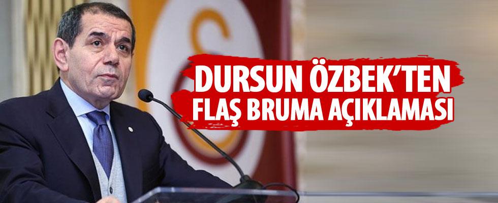 Özbek'ten flaş Bruma açıklaması
