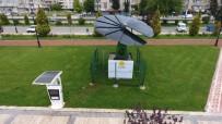 ELEKTRİK ENERJİSİ - Parkta Akıllı Çiçek Sistemi İle Enerji Üretiliyor