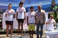 İSTİKLAL - Şehit Polis Feti Sekin Yüzme Maratonu Datça'da Yapıldı
