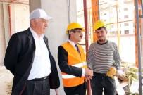 TICARET VE SANAYI ODASı - SGK Başkanı Bağlı İnşaat İşçileriyle Bir Araya Geldi