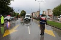 TRAFİK TESCİL - Sivas'ta Polis Ve Jandarmadan Ortak Trafik Uygulaması