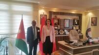 SRI LANKA - Sri Lanka Büyükelçisi Amza'dan SANKON'a Ziyaret