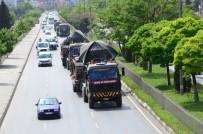 KOBANİ - Tanklar sınıra doğru yola çıktı