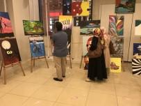 BOB MARLEY - Tokat'ta Lise Öğrencilerinden Resim Sergisi