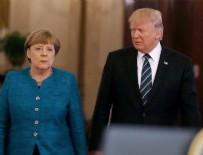 Trump: Almanlar kötü, çok kötü