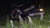 YUNUS EMRE - Yeni Aldıkları Otomobilleri Mezarları Oldu Açıklaması 2 Ölü, 3 Yaralı