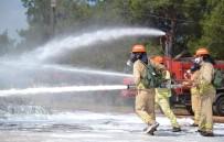 ORMAN YANGıNLARı - 18 Ülkeden 35 Ormancı Mersin'de Yangın Tatbikatı Yaptı