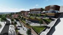 YIKIM ÇALIŞMALARI - Akçakoca Kent Meydanı Yeniyor
