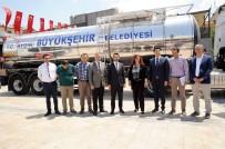 DAMPERLİ KAMYON - Başkan Çerçioğlu Büyükşehirin Yeni Araç Filosunu Tanıttı