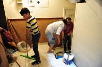 DARMADAĞıN - Başkent'te Ev Ve İş Yerlerini Su Bastı