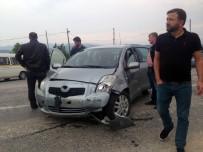 SELIMIYE - Bilecik'te İki Otomobil Çarpıştı Açıklaması 3 Yaralı