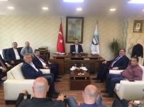 FARUK ÇATUROĞLU - Çaturoğlu'ndan Vali Kaban Ve TSO'ya Ziyaret