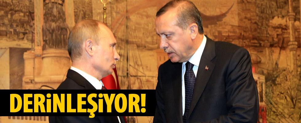 Erdoğan, Rusya lideri Putin ile görüştü