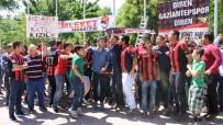 PROTESTO - Gaziantep Taraftarından 'Kızıl' Protestosu