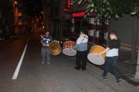 EYÜP SULTAN CAMİİ - İstanbul Sahura Davul Sesleriyle Uyandı