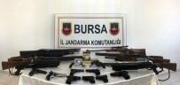 İL JANDARMA KOMUTANLIĞI - Jandarmadan Silah Kaçakçılarına Operasyon