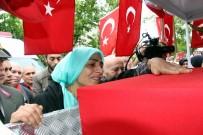 DOĞUBEYAZıT - Şehit Eşi Ebru Özdemir Açıklaması 'Yeşil Gözlüm Sen Peygambere Komşu Mu Oldun?'