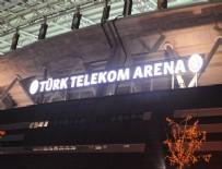 TÜRK TELEKOM ARENA - Türk Telekom Arena'nın adı değişti