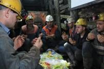 MADEN İŞÇİSİ - Zonguldak'ta Yerin 200 Metre Altında İlk Sahur